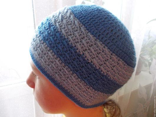 Шапки ручной работы. Ярмарка Мастеров - ручная работа. Купить Вязаная шапочка. Handmade. Комбинированный, подарок на день рождения
