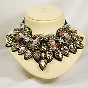 Украшения handmade. Livemaster - original item necklace Swarovski stones. Handmade.
