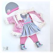 """Одежда для кукол ручной работы. Ярмарка Мастеров - ручная работа Комплект """"Нежность"""" для Беби Бон. Handmade."""