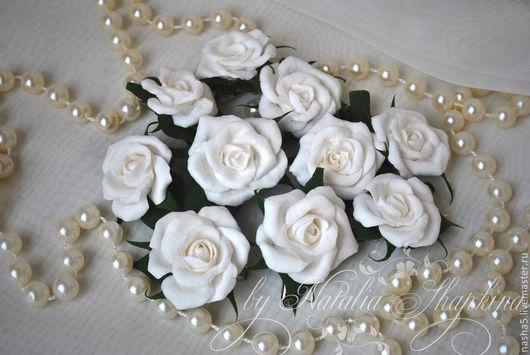 Свадебные украшения ручной работы. Ярмарка Мастеров - ручная работа. Купить Набор заколок для свадебной прически (10 шт). Handmade.