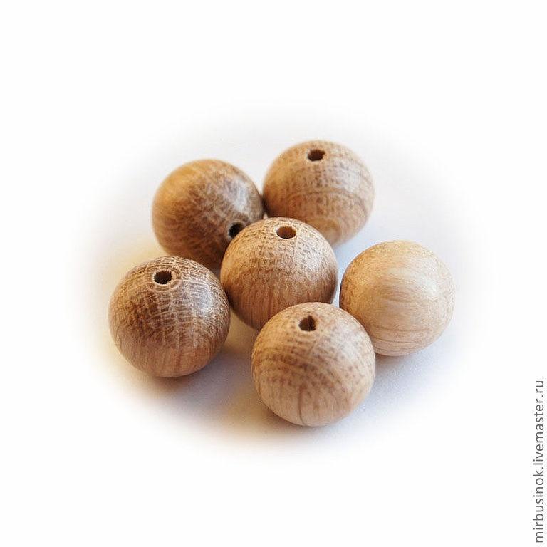 Бусины из дуба\r\n\r\nПрименяются при изготовлении слингобус, игрушек  и бижутерии.\r\nНаличие уточняйте !!!\r\nВ Ассортименте так же бусины из можжевельника, бука, ясеня, абрикоса, миндаля, черешни,