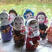 Куклы и игрушки handmade. Livemaster - original item Kulaski under the order. Handmade.