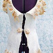 Одежда ручной работы. Ярмарка Мастеров - ручная работа Валяный жилет Женщина севера. Handmade.