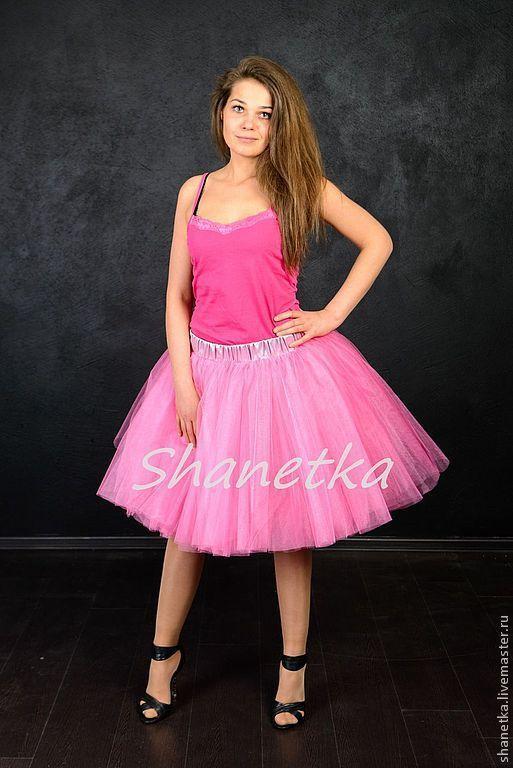 """Юбки ручной работы. Ярмарка Мастеров - ручная работа. Купить Юбка-пачка из фатина """"Розочка"""". Handmade. Розовый, юбка-туту"""