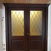 Для дома и интерьера ручной работы. Ярмарка Мастеров - ручная работа Двери дубовые с расстекловкой. Handmade.