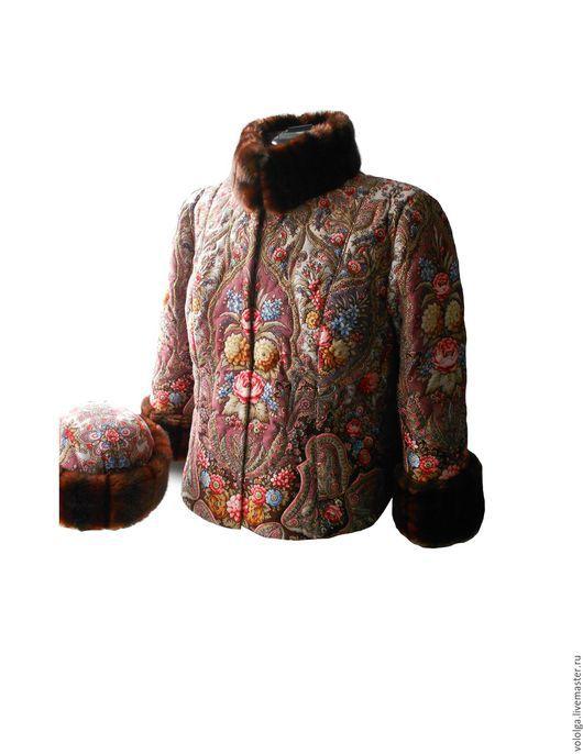Большие размеры ручной работы. Ярмарка Мастеров - ручная работа. Купить Зимняя куртка+шапка из ППП. Handmade. Разноцветный, теплая куртка