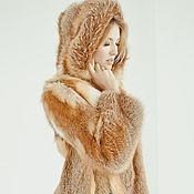 Одежда ручной работы. Ярмарка Мастеров - ручная работа Шуба из рыжей лисы Классика. Handmade.