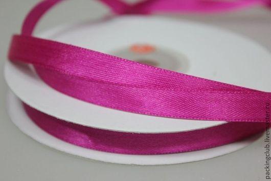 Упаковка ручной работы. Ярмарка Мастеров - ручная работа. Купить Лента атласная 10 мм х 1 метр. Handmade.