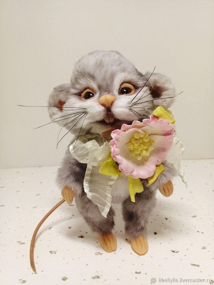 Мышонок Последний романтик, Шарнирная кукла, Магнитогорск,  Фото №1
