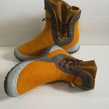 Обувь ручной работы. Ярмарка Мастеров - ручная работа Ботинки Casual. Handmade.