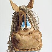 Куклы и игрушки ручной работы. Ярмарка Мастеров - ручная работа Кофейная игрушка лошадки. Handmade.