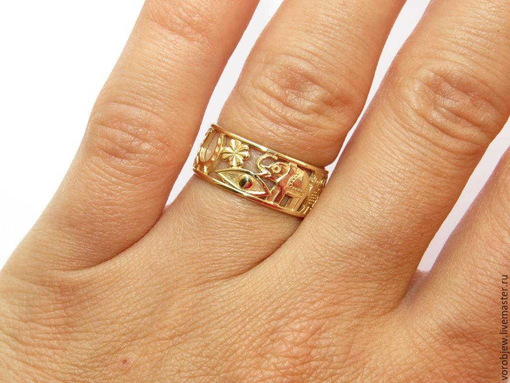 купить кольцо золото дешево