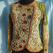 """Одежда ручной работы. Ярмарка Мастеров - ручная работа Джемпер """"Осенняя мелодия"""". Handmade."""