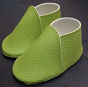 Ботиночки для кукольной стопы размером 5-6 см.