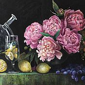 Картины и панно ручной работы. Ярмарка Мастеров - ручная работа Ночной натюрморт. Handmade.