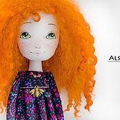 """Куклы и игрушки ручной работы. Ярмарка Мастеров - ручная работа Авторская кукла """"Рыжуля"""". Handmade."""