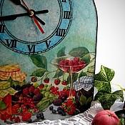 """Для дома и интерьера ручной работы. Ярмарка Мастеров - ручная работа Часы """"Ягодное варенье"""". Handmade."""