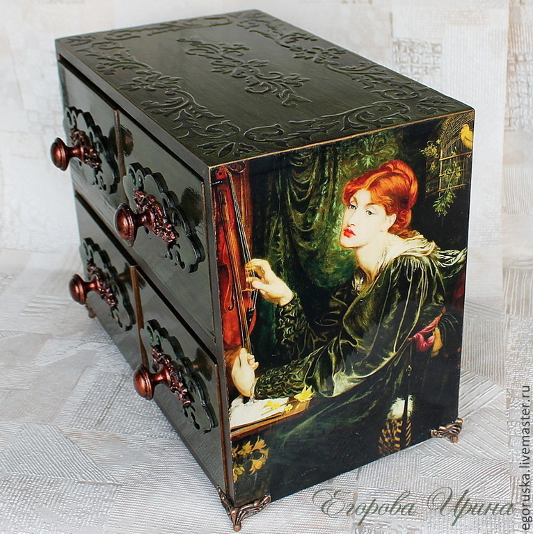 Mini chest of drawers 'Expectation born of memory ', Mini Dressers, Moscow,  Фото №1