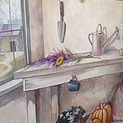 Дизайн и реклама ручной работы. Ярмарка Мастеров - ручная работа Роспись стен на лоджии3d. Handmade.