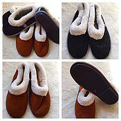 Обувь ручной работы. Ярмарка Мастеров - ручная работа Чувяки мужские на плотной подошве из овчины. Handmade.