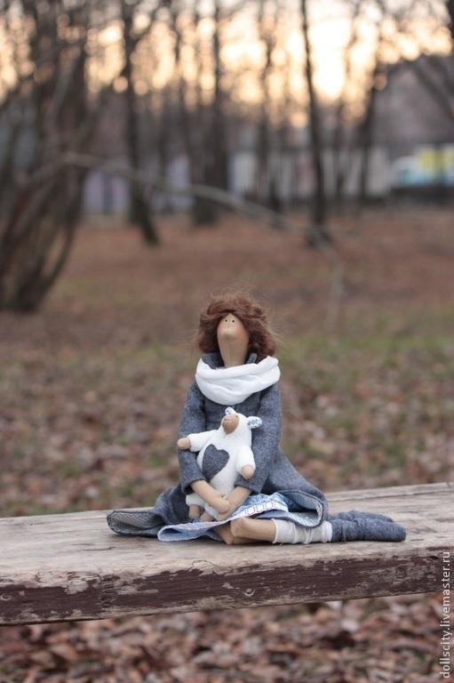 Куклы Тильды ручной работы. Ярмарка Мастеров - ручная работа. Купить Тильда. Кукла текстильная интерьерная.. Handmade. Кукла