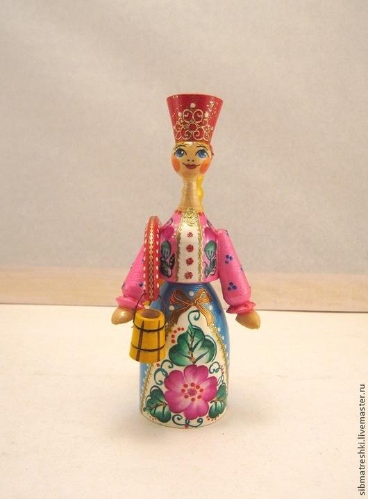 Народные куклы ручной работы. Ярмарка Мастеров - ручная работа. Купить Красавица. Handmade. Игрушка, русский узор, лак, краса