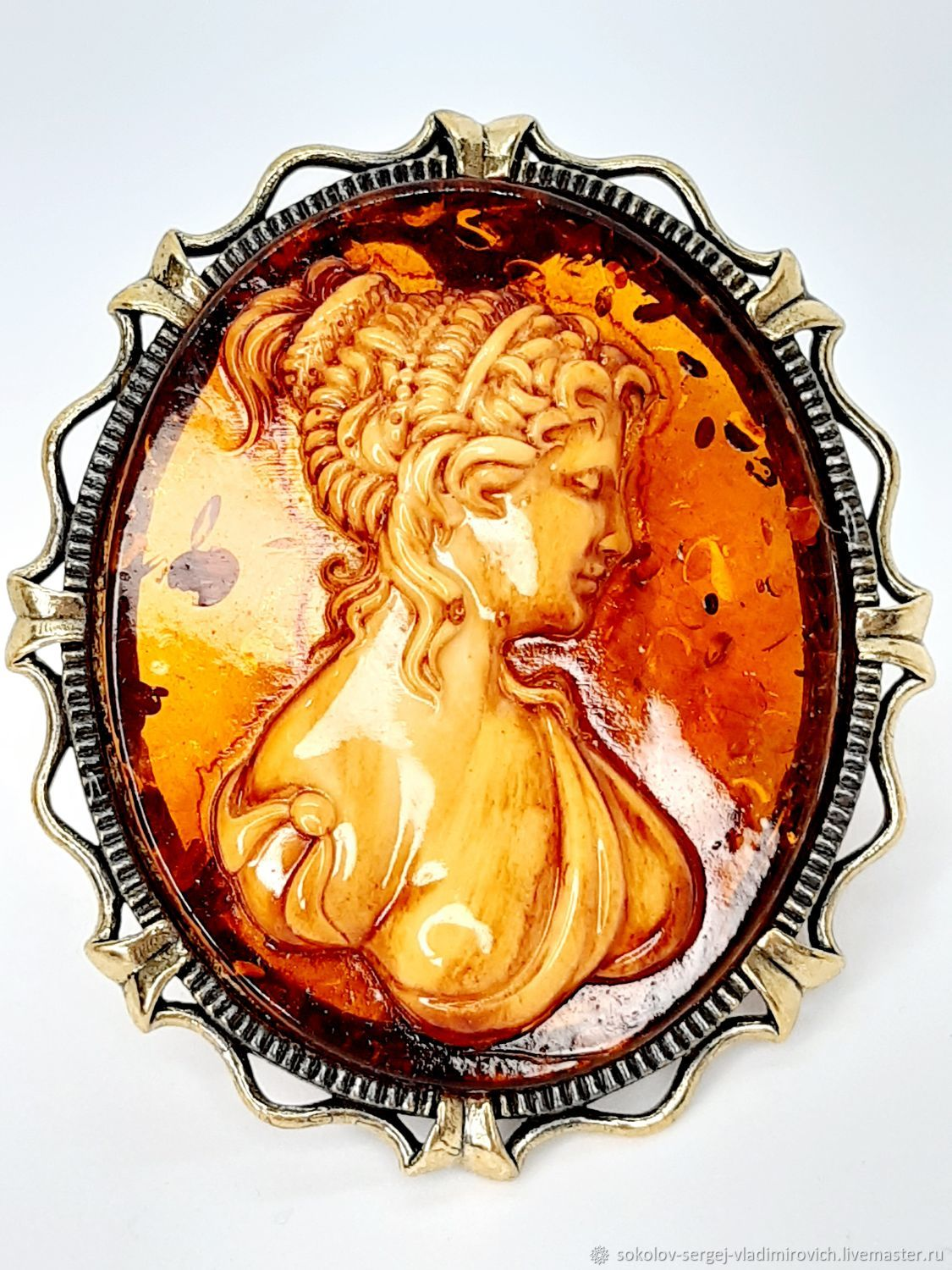 Brooch CAMEO, Brooches, Moscow,  Фото №1