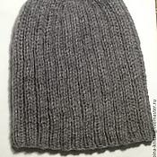 Одежда ручной работы. Ярмарка Мастеров - ручная работа Мужская зимняя шапка. Handmade.