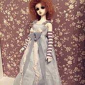 Куклы и игрушки ручной работы. Ярмарка Мастеров - ручная работа Аутфит для куклы БЖД (MCD)  №37. Handmade.