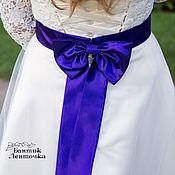 Свадебный салон handmade. Livemaster - original item Belt for wedding dresses
