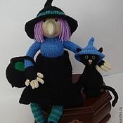 Куклы и игрушки ручной работы. Ярмарка Мастеров - ручная работа ведьма Вильгемина, вязаная игрушка. Handmade.
