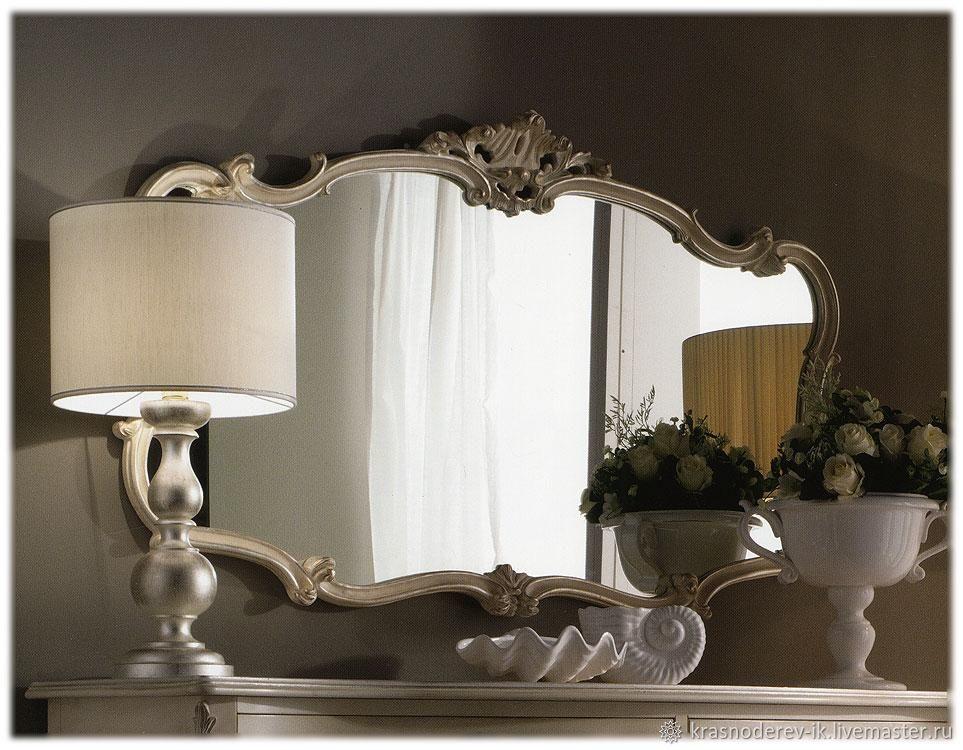 Зеркало в изящной раме в классическом стиле, Зеркала, Санкт-Петербург,  Фото №1