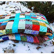 """Для дома и интерьера ручной работы. Ярмарка Мастеров - ручная работа Лоскутное одеяло """"Квадрат"""". Handmade."""