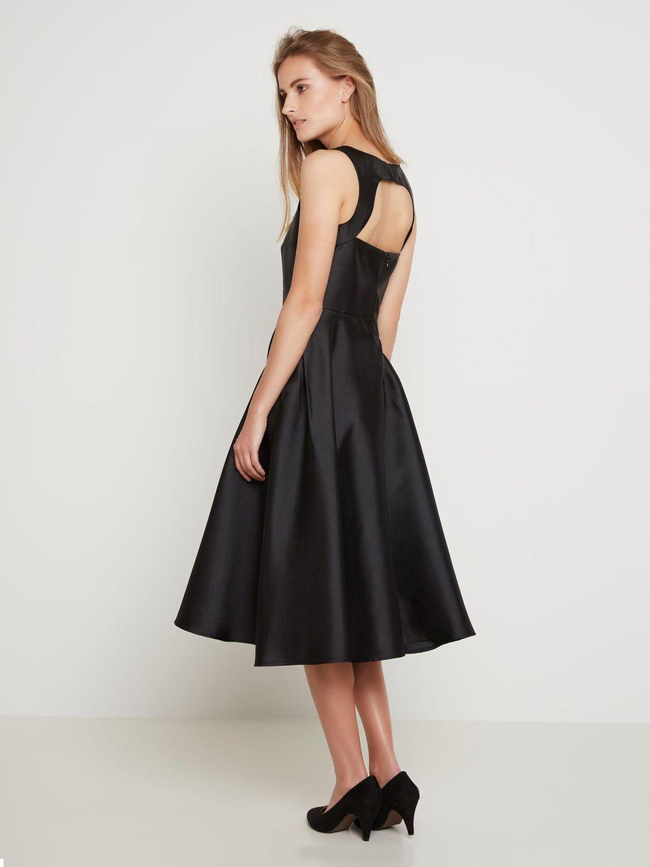 купить платье вечернее короткое черное