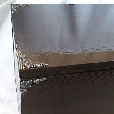 Для дома и интерьера ручной работы. Ярмарка Мастеров - ручная работа Деревянный ящик изготовлен из дерева сосны.. Handmade.