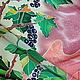 """Шарфы и шарфики ручной работы. Шелковый шарф """"СМОРОДИНА.""""  Батик.. Анна Агалина. Ярмарка Мастеров. Батик, краски для батика"""