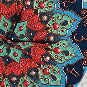 """Для дома и интерьера ручной работы. Ярмарка Мастеров - ручная работа Часы """"Мандала"""". Handmade."""