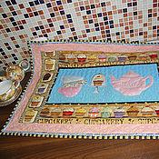 """Ковры ручной работы. Ярмарка Мастеров - ручная работа Панно для кухни """"Может чаю...?"""". Handmade."""