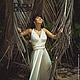 Пляжные платья ручной работы. Платье-трансформер Инфинити в пол белое. Dudu-dress. Интернет-магазин Ярмарка Мастеров. Однотонный