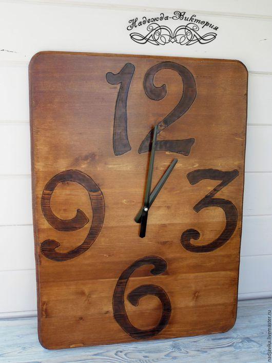 """Часы для дома ручной работы. Ярмарка Мастеров - ручная работа. Купить Часы настенные """"Амбарные"""". Handmade. Часы настенные"""