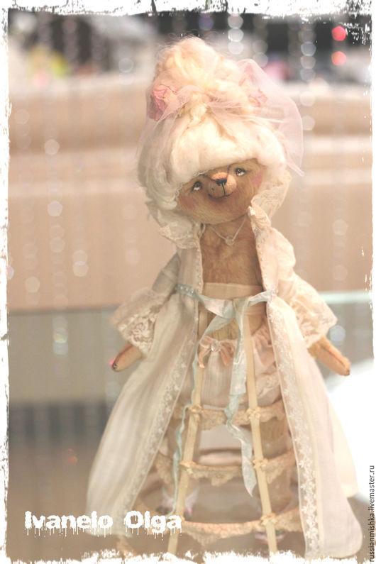 Мишки Тедди ручной работы. Ярмарка Мастеров - ручная работа. Купить Помпадур. Handmade. Мадам, тедди