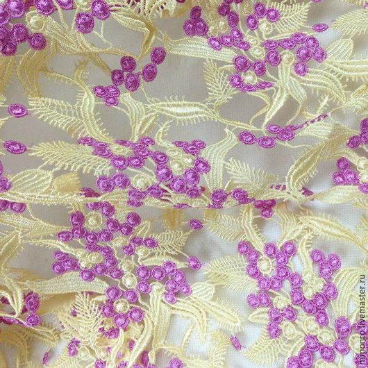 Шитье ручной работы. Ярмарка Мастеров - ручная работа. Купить Фэшн кружево, Dolce & Gabbana. Handmade. Ткань