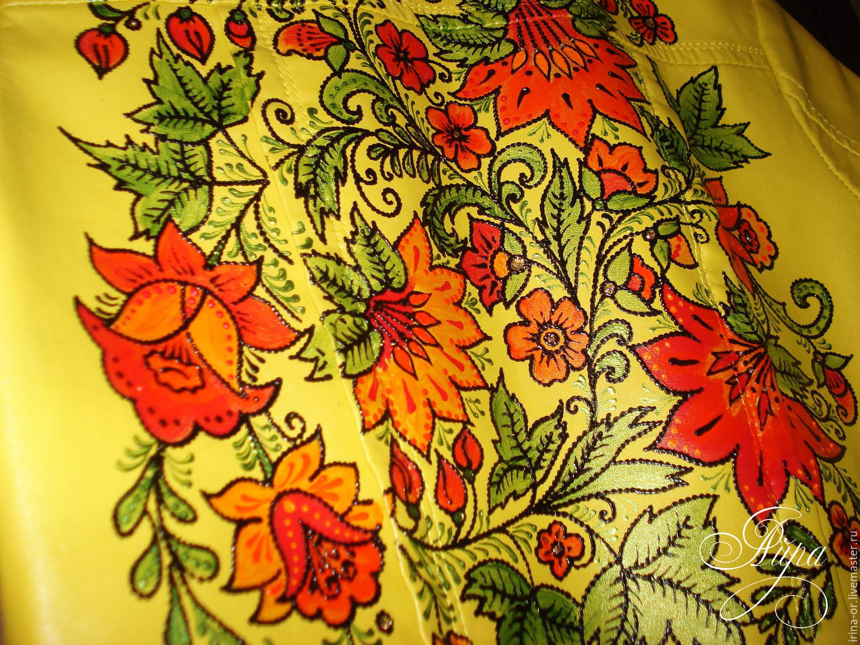 Роспись куртки (кастомизация одежды), Куртки, Волгоград, Фото №1