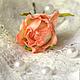 Заколки ручной работы. розы на шпильке. Наталья Fox Казакова (fleur-style). Интернет-магазин Ярмарка Мастеров. Розовый