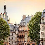 Картины и панно handmade. Livemaster - original item Париж фото картина, вечерний городской пейзаж. Handmade.
