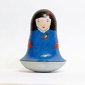 Подарки к праздникам ручной работы. Ярмарка Мастеров - ручная работа Неваляшка с куклой. Handmade.