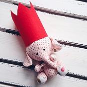 Куклы и игрушки ручной работы. Ярмарка Мастеров - ручная работа Слоник. Handmade.