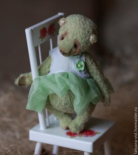 Мишки Тедди ручной работы. Ярмарка Мастеров - ручная работа. Купить Арабель. Handmade. Мятный, мишки, тедди мишка