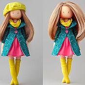 Куклы Тильда ручной работы. Ярмарка Мастеров - ручная работа Кукла текстильная для девочки. Handmade.
