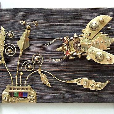 Субкультуры ручной работы. Ярмарка Мастеров - ручная работа Панно стимпанк. Handmade.